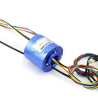 MX18101803-multi wires combination 1000M Ethernet slip ring