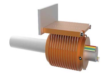Installation for separate slip ring