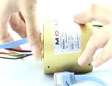 How to works for 1000M Ethernet slip rings?