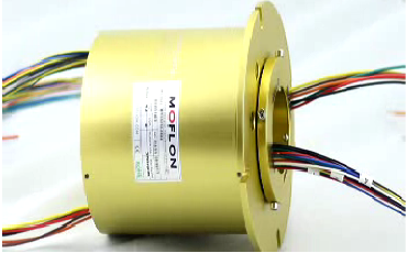 How to works for MT through bore with FL02 flange slip rings?
