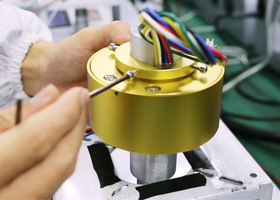 How to works for Moflon electric slip rings?