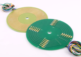 How to works for pcb slip rings?